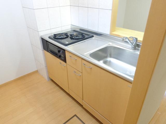 ラ メゾン デ ショコラ 206号室のキッチン