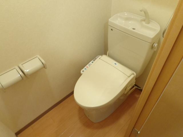 ラ メゾン デ ショコラ 206号室のトイレ