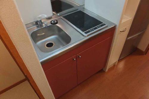 レオパレスT BOX Ⅰ 101号室のキッチン