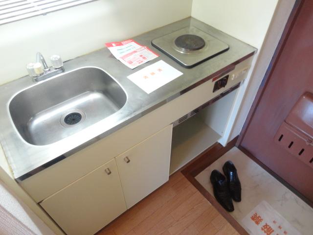 メゾンパール桂 402号室のキッチン