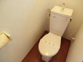 てのひら荘 201号室のトイレ