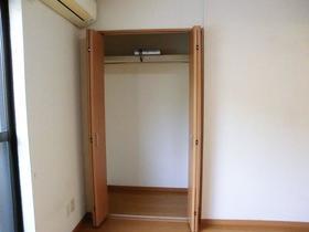 てのひら荘 201号室の収納
