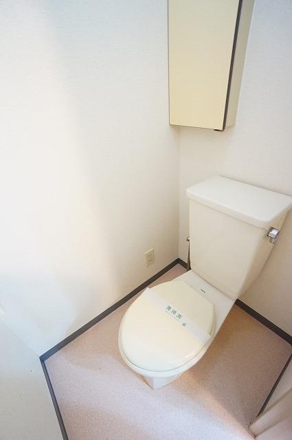 マリッチ高嶋 03010号室のトイレ