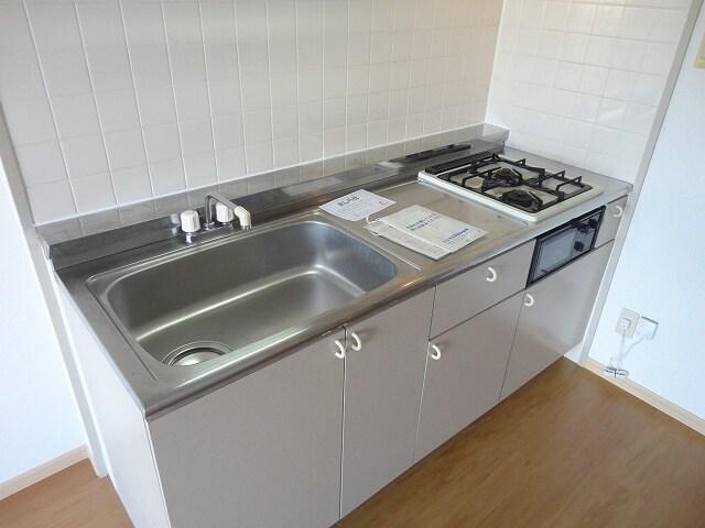 プレステージN 02010号室のキッチン