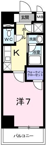 アルドール・K・04020号室の間取り