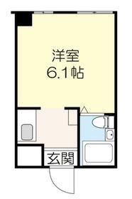 上野イースト 101号室の間取り