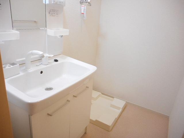 カーサ プラシード 02020号室の洗面所