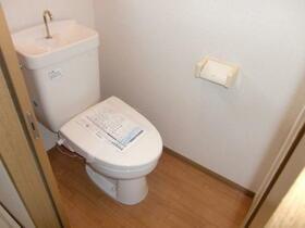 ル・シェーヌ 201号室のトイレ