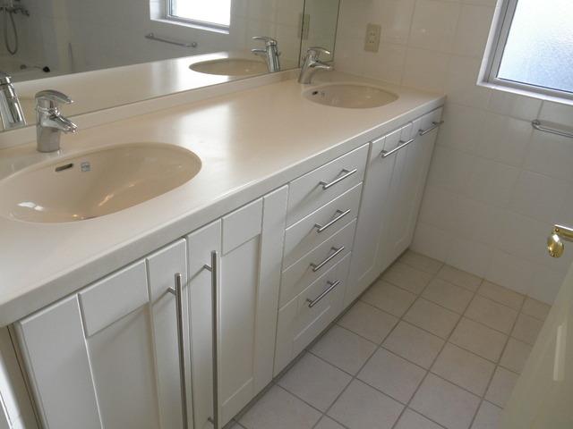 松平ハウスの洗面所