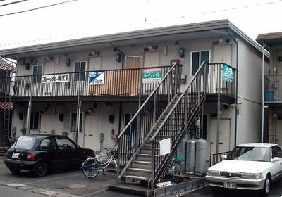 フォーブル堀江Ⅱ 203号室の外観