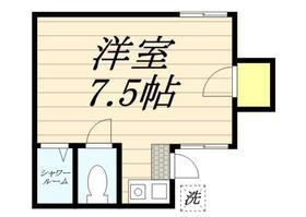 メゾン・ド・パレイ・0103号室の間取り