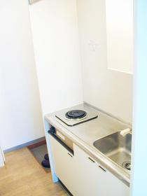 コンチネンタルハイム石神井台 203号室のキッチン