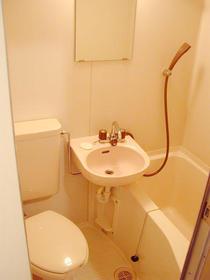 コンチネンタルハイム石神井台 203号室の風呂