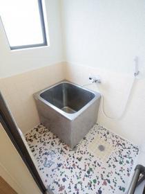 ブリックコーポ 0201号室の風呂