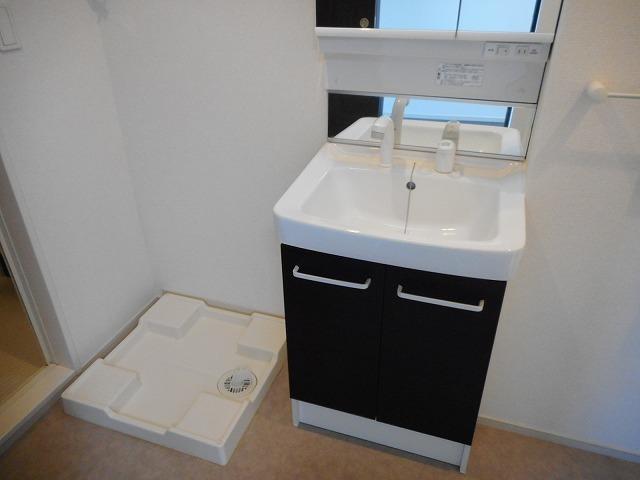 ベルメゾン 02010号室の洗面所