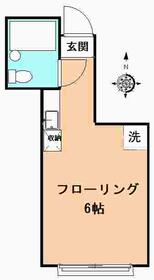 永井ビル・202号室の間取り