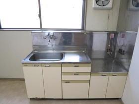 Mビル 2-A号室のキッチン