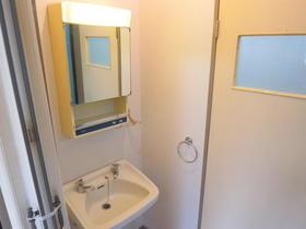 Mビル 2-A号室の洗面所