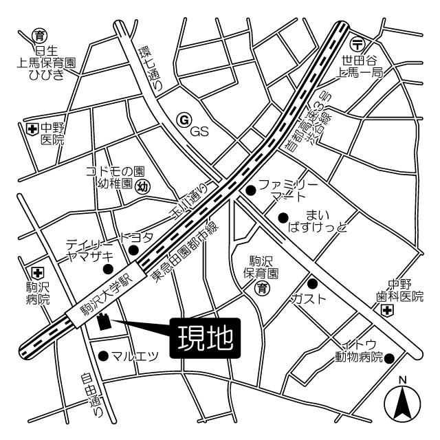 エルフレア駒沢の外観