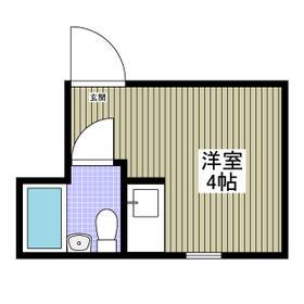 UPPER HOUSE上石神井・201号室の間取り