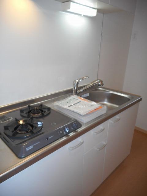 シャトーエクセラン 01030号室のキッチン