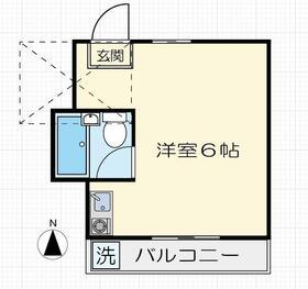 小金井マンション・103号室の間取り