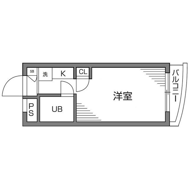 ピアクレスト仙川・406号室の間取り