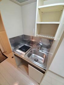 エンゼルハイム 103号室のキッチン