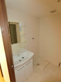 レジディア調布 0405号室の洗面所