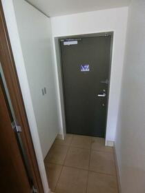 レジディア調布 0405号室の玄関