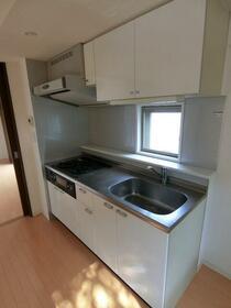 レジディア調布 0405号室のキッチン