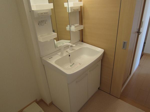 ハピネス ガ-デン 01010号室のキッチン