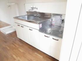 ニューグリーン 201号室のキッチン