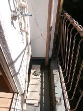メゾン・ド・セレスト 0201号室のバルコニー