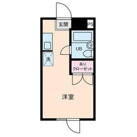 石神井台高野マンション・0309号室の間取り