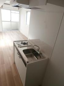 メゾン・ド・カナリ 0510号室のキッチン
