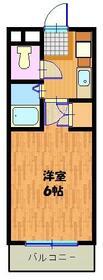 松本ビル・510号室の間取り