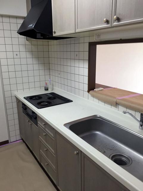 アステリオン松濤 804号室のキッチン