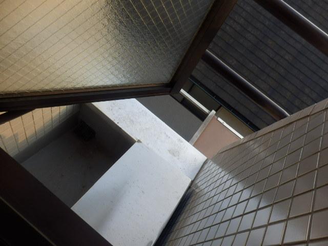 ファインコート等々力 403号室のバルコニー