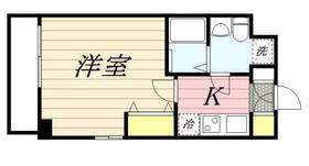 キャッスル北沢大橋 0802号室の間取り