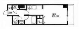 HF駒沢公園レジデンスTOWER・0206号室の間取り