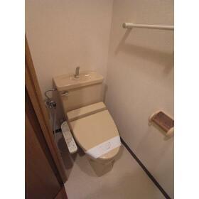 メルベイユ恵比寿 302号室のトイレ