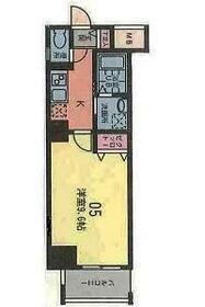 フローラ宮崎台・402号室の間取り