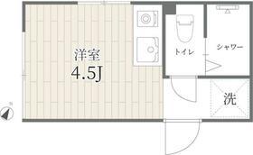 PROTO渋谷神泉I・203号室の間取り