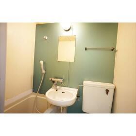 ラブピースエムス 103号室の洗面所