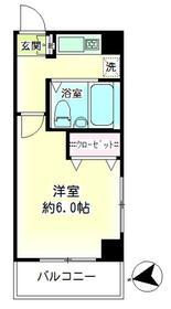 第10新井ビル・00601号室の間取り