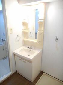 ドメス横浜南 901号室の洗面所