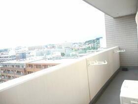 ドメス横浜南 901号室のバルコニー