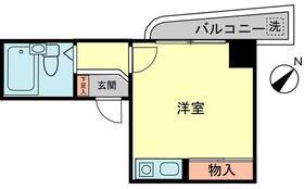 ロワール横浜 207号室の間取り