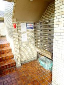 ロワール横浜 207号室のエントランス